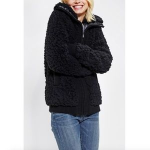 Pins &Needles Fuzzy Bomber